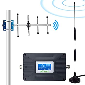 Image of Home 4G Cell Phone Signal Booster for Verizon AT&T T-Mobile Straight Talk Cricket U.S. Cellular 700MHz Band 12/13/17, Signal Booster Cell Phone Booster Enhance Verizon ATT 4G LTE Data&Voice Signal Boosters