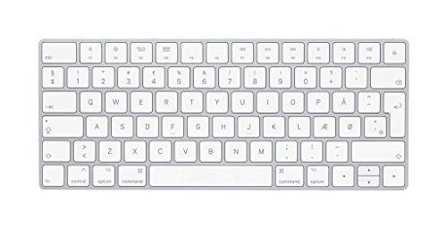 Apple Magic Keyboard (Wireless, Rechargable) (Danish) - Silver