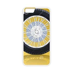 iPhone 6 Plus 5.5 Inch Case White Bugatti Cell Phone Case Cover Y8U8JK