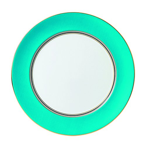 "Wedgwood Vibrance 12.4"" Dinnerware Charger Plates, Turquoise"