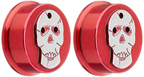 All Sales 9403SKR Skull Heater/AC Knob, (Pack of 2)