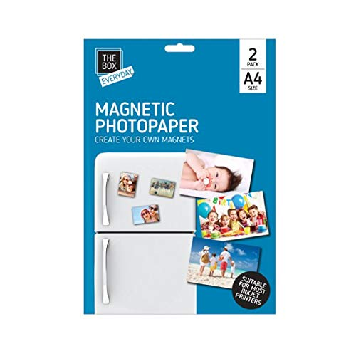 Home Fusion The Company - Pack de 2 Hojas de Papel fotográfico ...