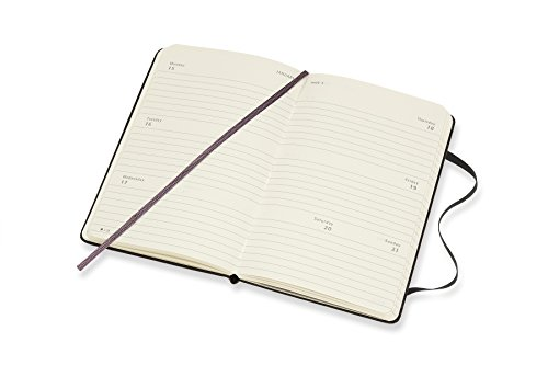Amazon.com : Moleskine 18 Month Weekly Horizontal Planner ...