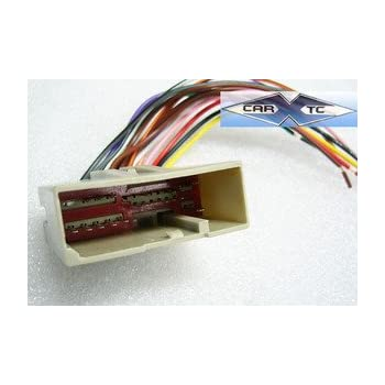 Amazon.com: Stereo Wire Harness Ford Focus 05 2005 (car radio wiring on jeep commander radio wiring harness, dodge sprinter radio wiring harness, cadillac escalade radio wiring harness, jaguar s-type radio wiring harness, jeep wrangler radio wiring harness, toyota tundra radio wiring harness,
