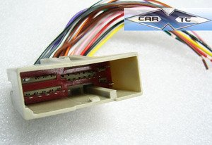 41fRxJWm1SL amazon com stereo wire harness ford mustang 05 2005 (car radio Aftermarket Radio Harness Diagram at soozxer.org