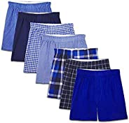 Fruit of the Loom Boys Woven Boxer (Pack of 7)