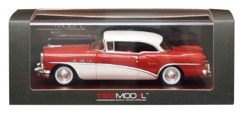 1/43 1954 ビュイック センチュリー クーペ タイタン レッド/ホワイト TSM114338