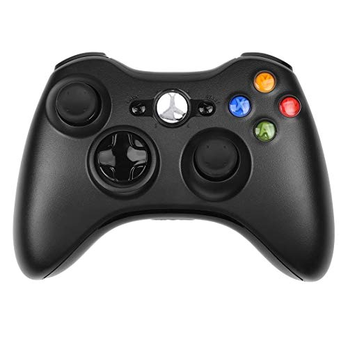 SogYupk Wireless Controller Compatible with Xbox 360 - Black ()