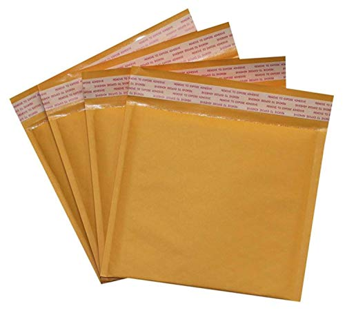 Secure Seal #CD 7.25x8 Kraft Bubble Mailers Padded Shipping Envelopes (Pack of 25)