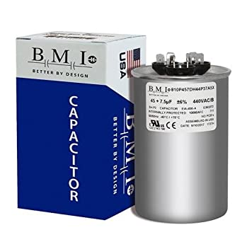 Usa Made Bmi Replacement For Ge Genteq Round Capacitor 45