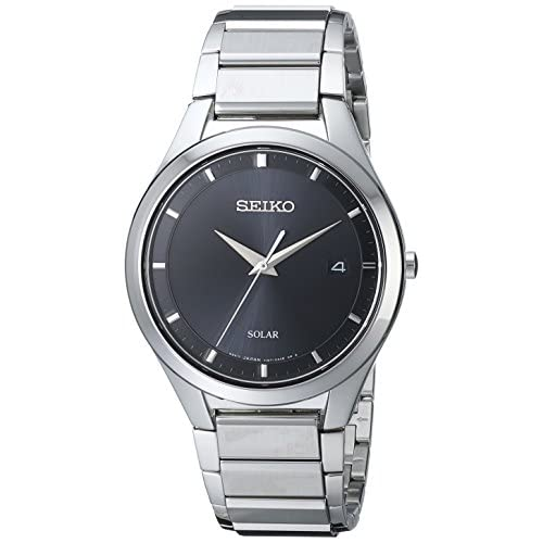 Seiko Men's SNE241 Solar Dress Japanese Quartz Watch