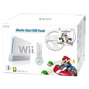 Bei amazon: Nintendo Wii Mario Kart Bundle für nur 136,40 € inkl. VSK!