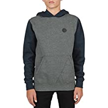 Volcom Hoody – Sngl Stn Clrblk grey/blue size: 128-140 cm tall - 8 to 10 years
