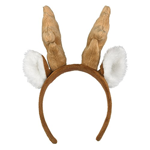 Wildlife Artists White-Tailed Deer Headband Reindeer Plush Toy]()