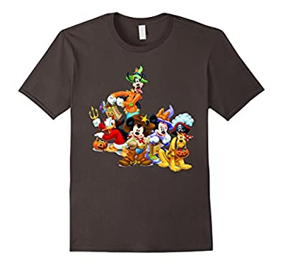 Mic-Key Funny Halloween T-Shirt. Dis-ney Halloween Shirt