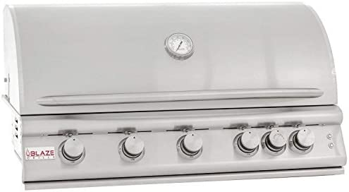 Blaze Built-In Grill with Lights BLZ-5LTE2-NG , 40-inch, Natural Gas
