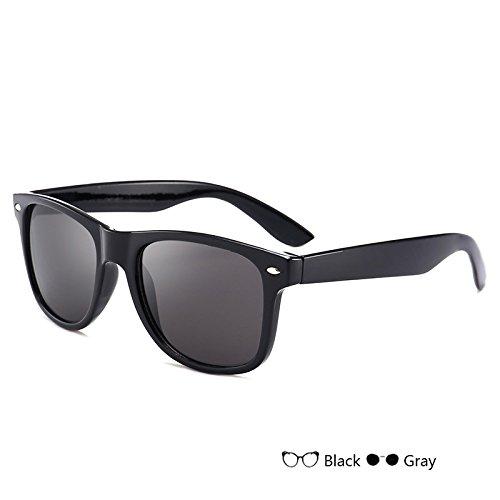 de polarizadas nocturna hombre de para Sunglasses Vintage conducción gafas gafas visión TL de azul sol Gray Gafas del Gafas hombre wI87Iqv