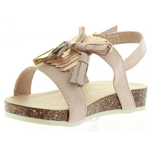 Sandales pour Fille URBAN 337663-B2040 NUDE-COPPER