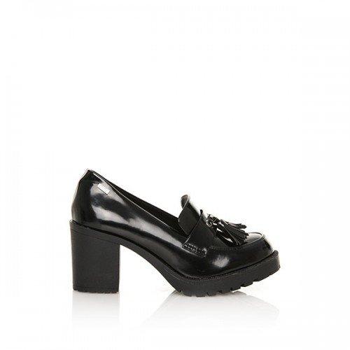 c83b1323954 Zapato MTNG Mujer 51596 C28590 Mila Black  Amazon.es  Zapatos y complementos