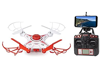 World Tech Toys Striker-X Pro GPS Live View 2.4Ghz 4.5Ch RC HD Camera Drone by World Tech Toys