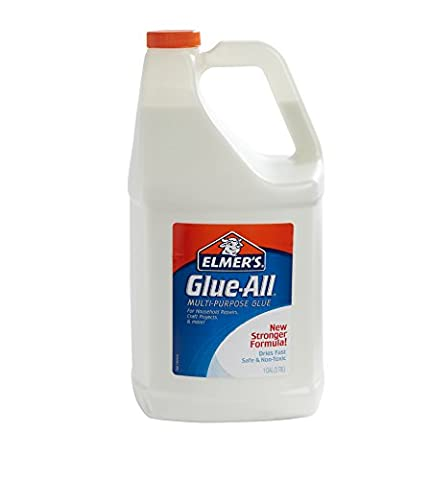 Elmer's Glue-All Multi-Purpose Liquid Glue, Extra Strong, 1 Gallon, 1 Count - Great For Making (On Amazon Premium Dry)