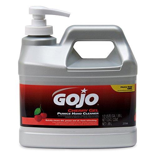 gojo-industries-2356-04-cherry-hand-cleaner-1-2-gallon