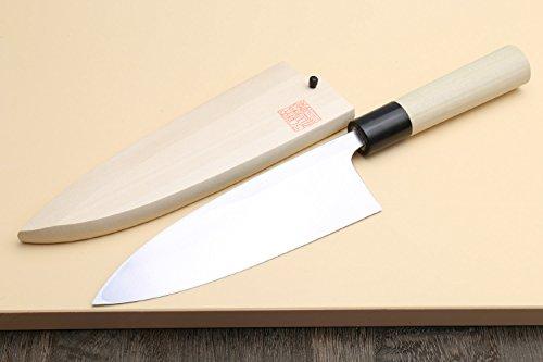 Yoshihiro High Carbon Shiroko Kasumi Deba Japanese Fillet Chef's Knife 6''(150mm) by Yoshihiro (Image #2)