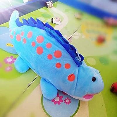 Upstudio Herramientas caseras multifuncionales Estuche para lápices, Caja de lápices para Animales Little Dinosaur Pencil Bag Storage Pouch Bag Case Blue: Amazon.es: Hogar