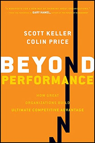 Beyond Performance: How Great Organizations Build Ultimate Competitive Advantage (Achieving Competitive Advantage compare prices)