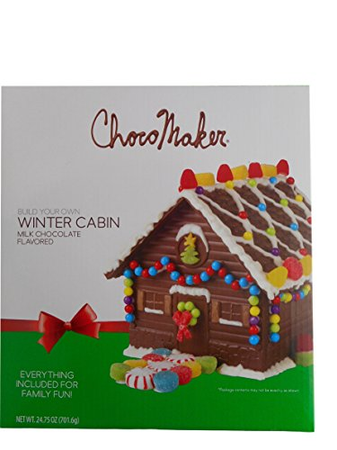 Chocolate Gingerbread House Choco Maker Winter Cabin Make