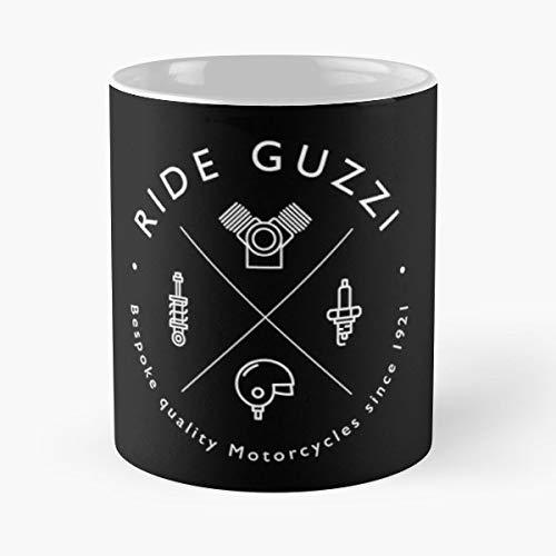 Moto Guzzi Motor Motorcycle Motorbike - Morning Coffee Mug Ceramic Novelty Holiday