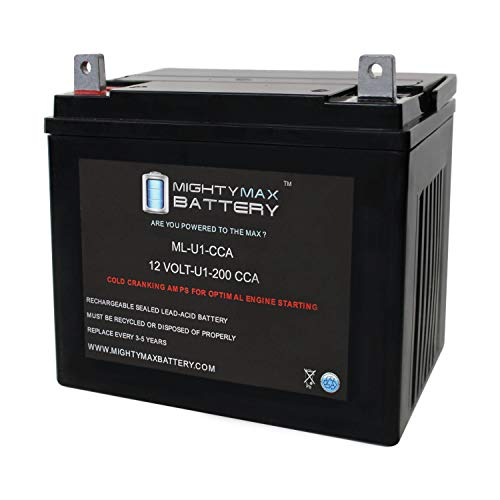 Mighty Max Battery ML-U1 12V 200CCA Battery for Bolens Corp 13000 Lawn Tractor Mower Brand Product ()