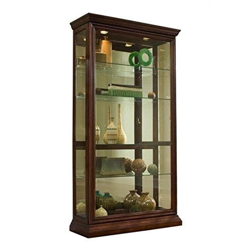 Cabinet Display China Curio (Pulaski Two Way Sliding Door Curio, 43 by 16 by 80-Inch)