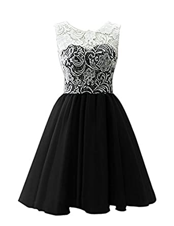 Amazon.com: CCBubble Lace 8th Grade Prom Dresses O