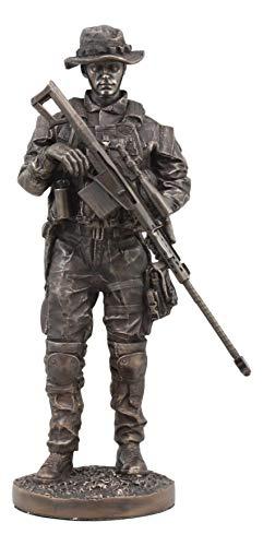 Navy Marine Corps Memorial - Ebros Large Modern Military Marine Sniper Soldier Statue 13