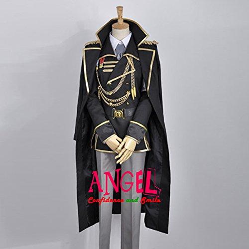 【サイズ選択可】男性XSサイズ A1J00816 コスプレ衣装 K RETURN OF KINGS 伊佐那社 いさなやしろ spoon軍服 男性XSサイズ  B01N8OLAMY