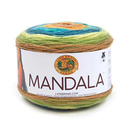 Lion Brand Yarn 525-228 Mandala Yarn, Kelpie ()