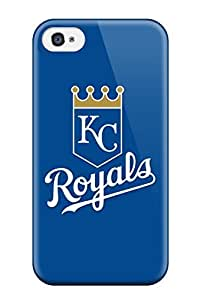 Cute Appearance Cover/tpu RkeAHLK3532rgeYu Kansas City Royals Case For Iphone 4/4s