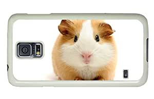 Hipster Samsung Galaxy S5 Case shop cover Cute Guinea Pig PC White for Samsung S5