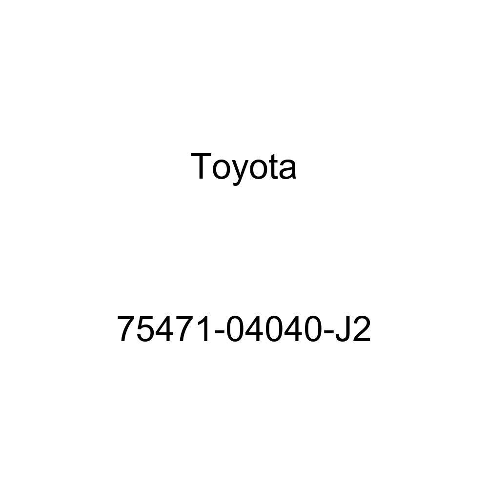 TOYOTA 75471-04040-J2 Nameplate