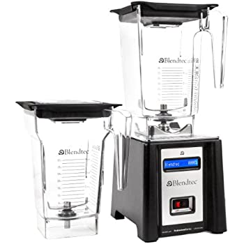 Blendtec Professional Blender, WildSide / FourSide Jars - Black