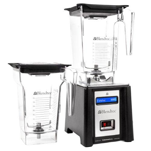 Blendtec Professional Blender, WildSide / FourSide Jars - Black (Blendtec Mixer)