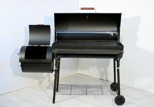 Tepro Grill Smoker Holzkohlegrill Milwaukee : Nexos smoker bbq grill grillwagen holzkohlegrill 95cm rost 160 x