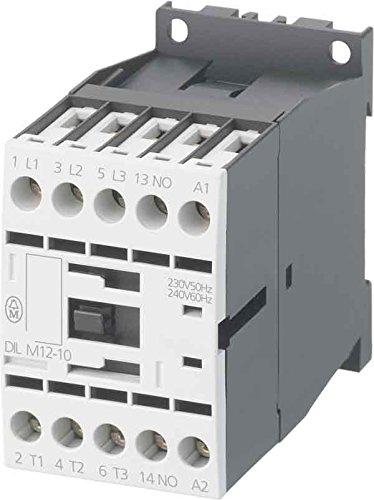 Eaton (Moeller) Leistungsschü tz DILM7-10(220VDC) 1S 3kW/400V,DC DILM Leistungsschü tz, AC-schaltend 4015082765699