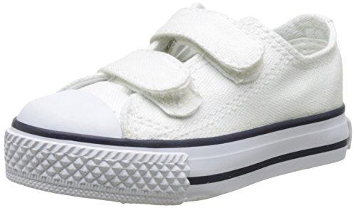 victoria Baby Jungen Zapato Basket Velcros Krabbelschuhe Weiß (Blanco)