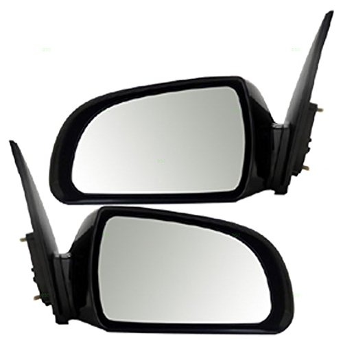 Power Side View Mirror Heated Driver and Passenger Replacements for 06-10 Hyundai Sonata 87610-0A000 87620-0A000