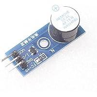 Ecloud Shopョ 3.3-5V Active High Level Trigger Buzzer Alarm Sound Sensors Module