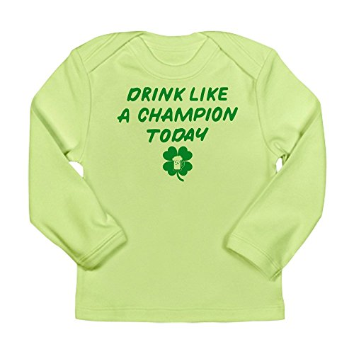 CafePress Drink Like A Champion - Long Sleeve Infant T-Shirt
