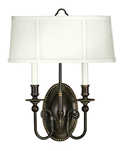 - Hinkley 3610OB Traditional Two Light Wall Sconce from Cambridge collection in Bronze/Darkfinish,