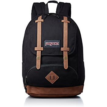 JanSport Baughman Laptop Backpack (Black Canvas)